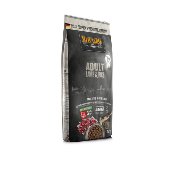 Belcando Adult Lamb & Rice, 12,5 kg